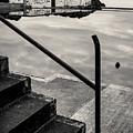 Tarlair Pool Reflection by Dave Bowman