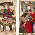 Tarot Cards, C1700 by Granger