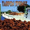 Tarpon Springs Postcard by Robert Wilder Jr