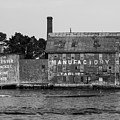 Tarr And Wonson Paint Manufactory In Black And White by Brian MacLean