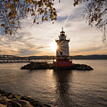 Tarrytown Lighthouse by Zawhaus Photography