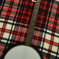 Tartan Banjo by Bill Cannon