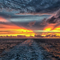 Tasman Sea Sunset by Bill Barber