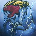 Tasunka Witko- Crazy Horse by Angelina Benson