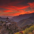 Tatev Monastery At Dawn by Anton Petrus