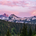Tatoosh Sunset by Sharon Seaward