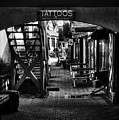 Tattoos And Body Piercing In Black And White by Greg Mimbs