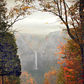 Taughannock In The Mist by Jessica Jenney