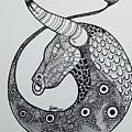 Taurus by Maria Leah Comillas