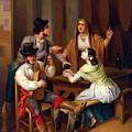 Tavern Scene by Angel Mara