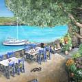 Taverna On Crete  by Diane Donati