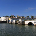 Tavira Ponte Romana And The River by Louise Heusinkveld