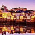 Tavira Reflections - Portugal by Barry O Carroll