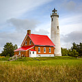 Tawas Point Lighthouse - Lower Peninsula, Mi  by Jack R Perry