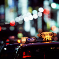 Taxis On The Ginza by Brad Rickerby