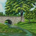 Taylor Lake Stone Bridge by Charlotte Blanchard