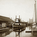 T.c. Walker Paddle Riverboat City Of Stockton Riverboat And Kath by California Views Archives Mr Pat Hathaway Archives