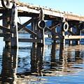Te Anau Pier by Jocelyn Friis