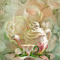 Tea And Roses 2 by Carol Cavalaris