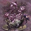 Tea And Roses by Carol Cavalaris