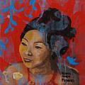 Tea Girl by Robin Maria Pedrero