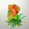 Tea Rose                        Copyrighted by Kathleen Hoekstra