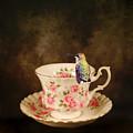 Tea Time With A Hummingbird by Jai Johnson