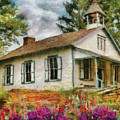 Teacher - The School House by Mike Savad