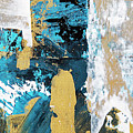 Teal Abstract by Christina Rollo