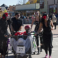 Team #27 At Emma Crawford Coffin Races In Manitou Springs Colorado by Steve Krull