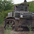 Tearing It Up - M3 Stuart Light Tank by Spencer Bush