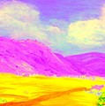 Technicolor Desert by Lessandra Grimley