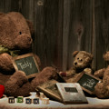 Teddy Bear School by Tom Mc Nemar