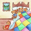Teddy Bears In The Bed by Irina Sztukowski