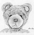 Teddybear Portrait by M Valeriano
