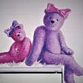 Teddy's Day by Suzn Art Memorial