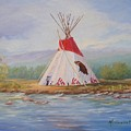 Tee Pee by Maxine Ouellet