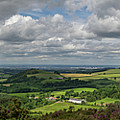 Tees Plain And Roseberry Topping by Gary Eason