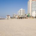 Tel Aviv Coastline by Ilan Rosen