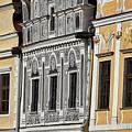 Telc Facade #2 - Czech Republic by Stuart Litoff