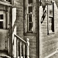 Telegraph And Cable Office Sepia Tone by Mel Steinhauer