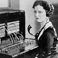 Telephone Operator by General Photographic Agency