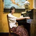 Telephone Operator by Mary Lee Dereske