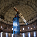 Telescope At Yerkes by David Bearden