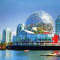 Telus World Of Science - Vancouver Canada by Ola Allen