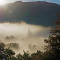 Temperature Inversion Traps Mist Over Ambleside by Louise Heusinkveld