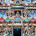 Temple Facade Chennai India by Dominic Piperata