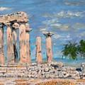 Temple Of Apollo  by Dan Bozich