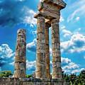 Temple Of Apollon by Anthony Dezenzio