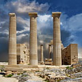 Temple Of Athena by Anthony Dezenzio
